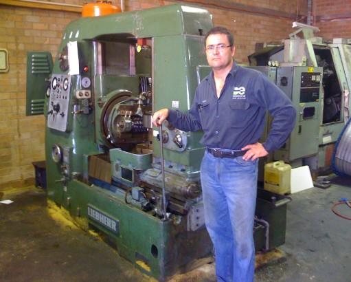 Liebherr Gearcutting Machine